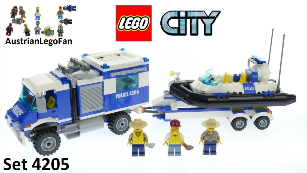 Lego City 4205 Off Road Command Center – Lego Speed Build Review