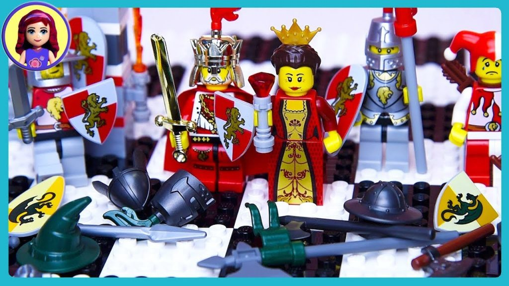 LEGO Chess Set Kingdoms Castle Battle Review Build Setup & Play – Kids Toys