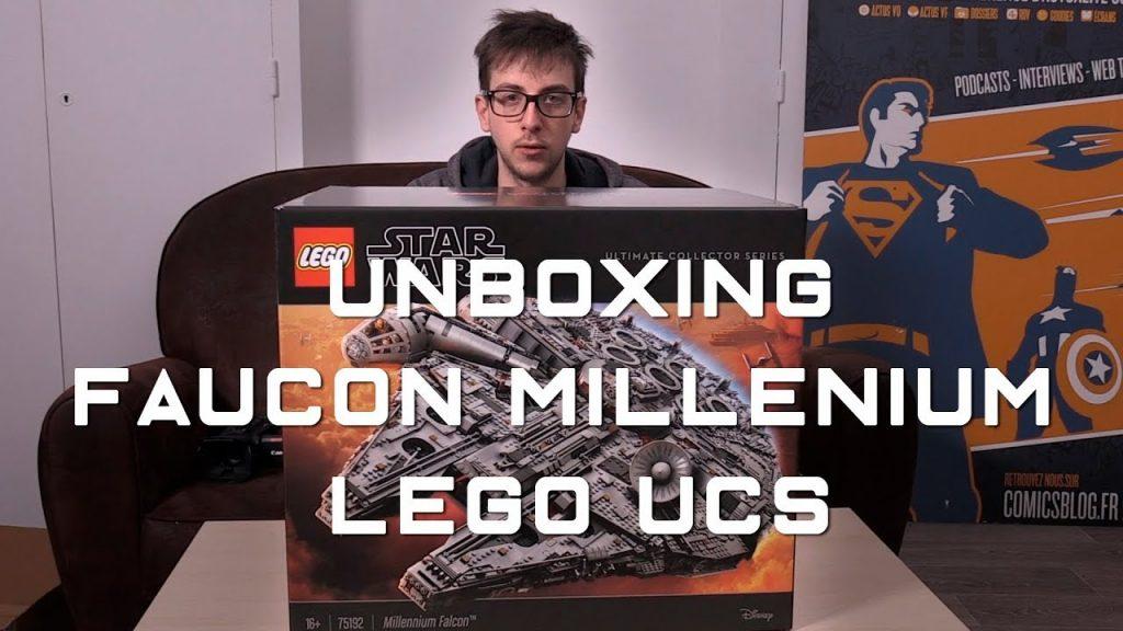 LEGO STAR WARS Faucon Millenium UCS – l'unboxing