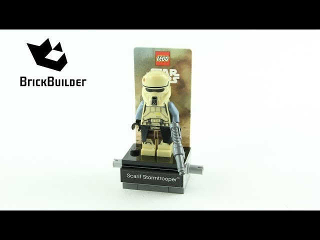 Lego Star Wars 40176 Scarif Stormtrooper – Lego Speed Build