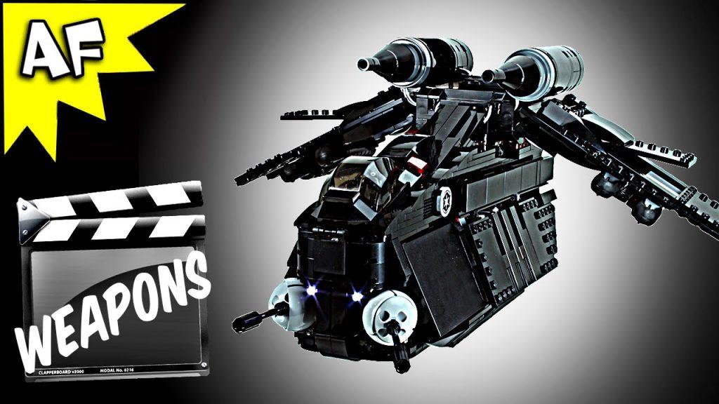 Custom BLACK OPs GUNSHIP Weapons: Lego Star Wars  Lego Star Wars 75021 7676 7163