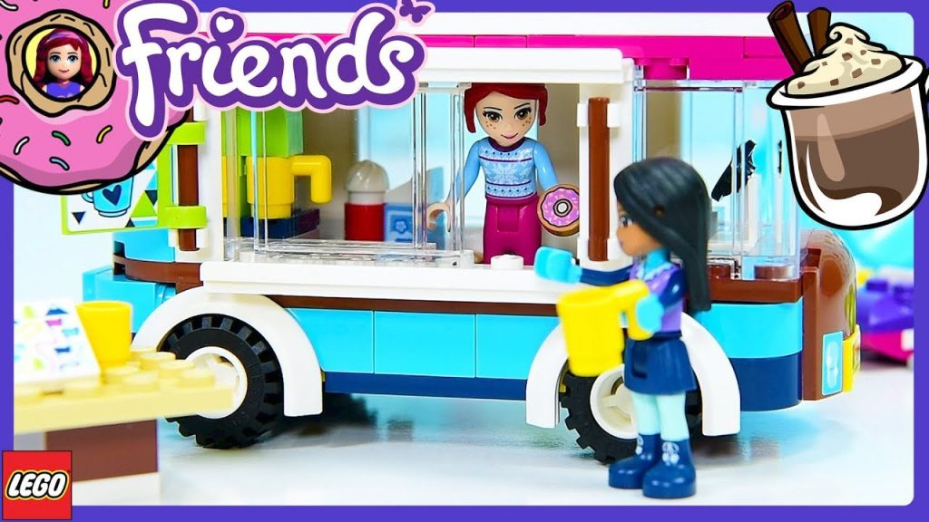 Lego Friends Hot Chocolate Van Snow Resort Set Review Build Silly Play – Kids Toys