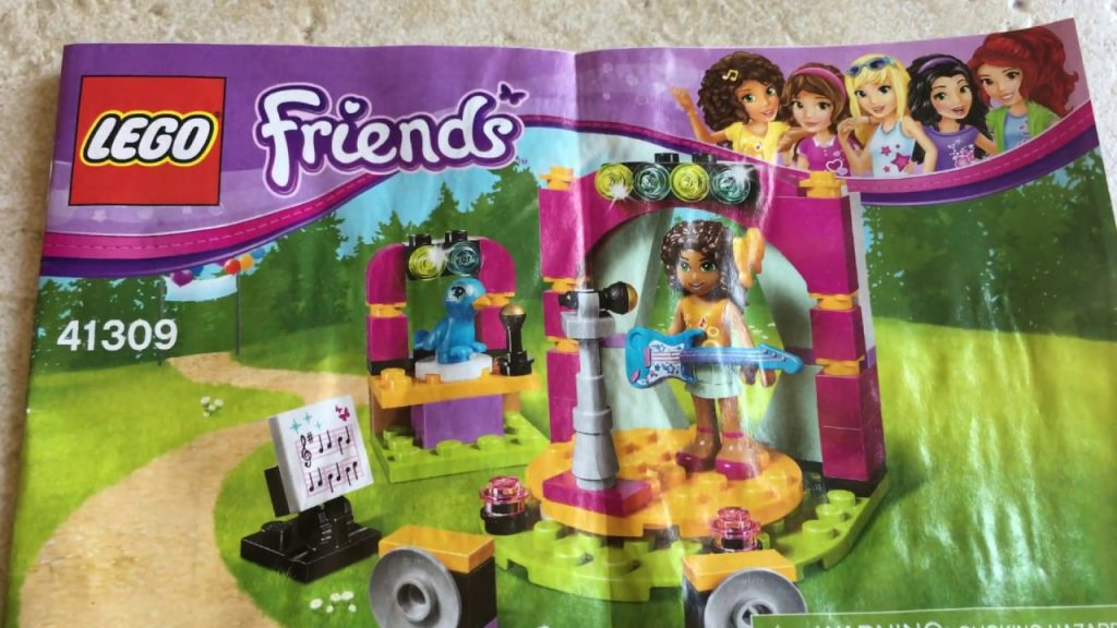 Lego Friends -Andrea musical duet