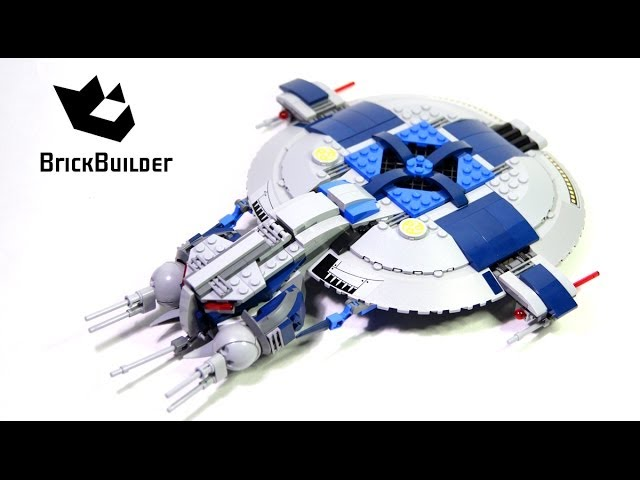 Lego Star Wars 75042 Droid Gunship Build and review
