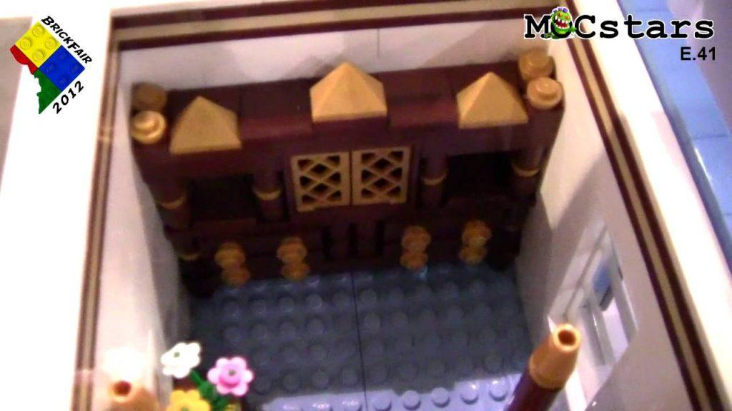 MOCstars: LEGO Friends Dollhouse MOC by Signe Gravatt