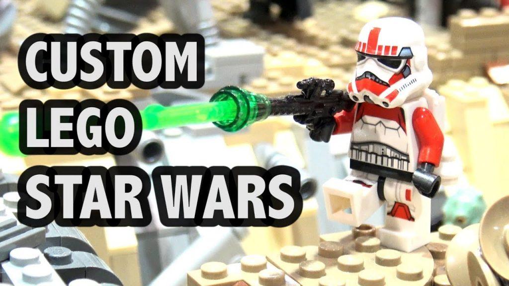 Star Wars: Battlefront Map in LEGO   Jawa Refuge