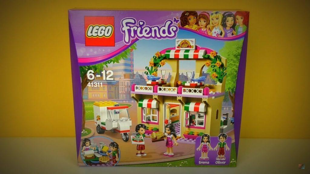 LEGO Friends Pizzeria w Heartlake / RECENZJA