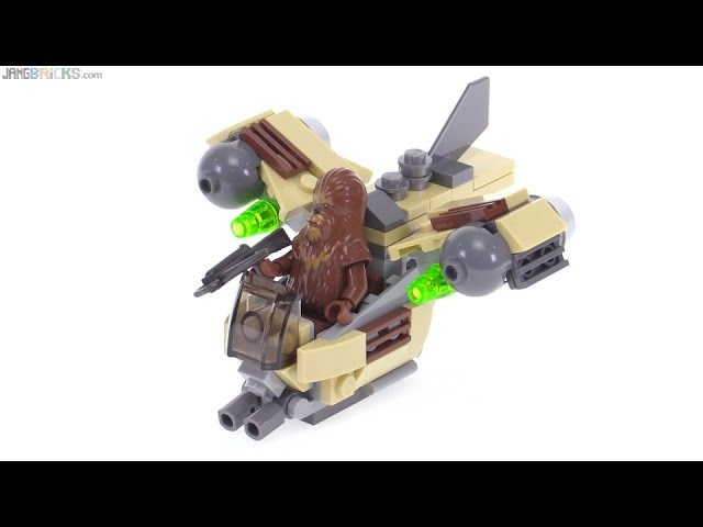 LEGO Star Wars Microfighters Wookiee Gunship review! 75129