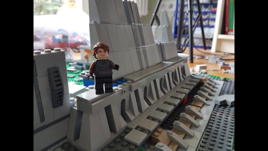 Building Jedi Tempel LEGO Star Wars Deutsch Woche #7 – Innenraum?!