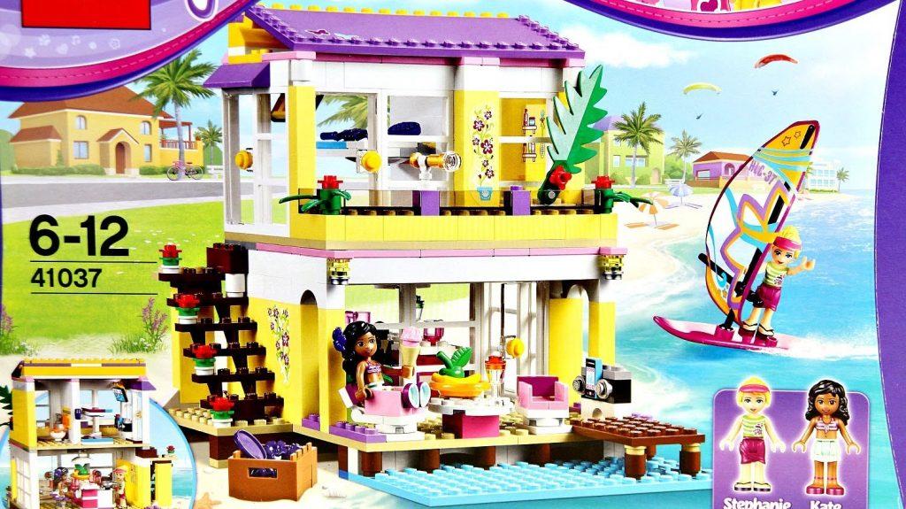 Stephanie's Beach House / Letni Domek Na Plaży 41037  – Lego Friends – Recenzja