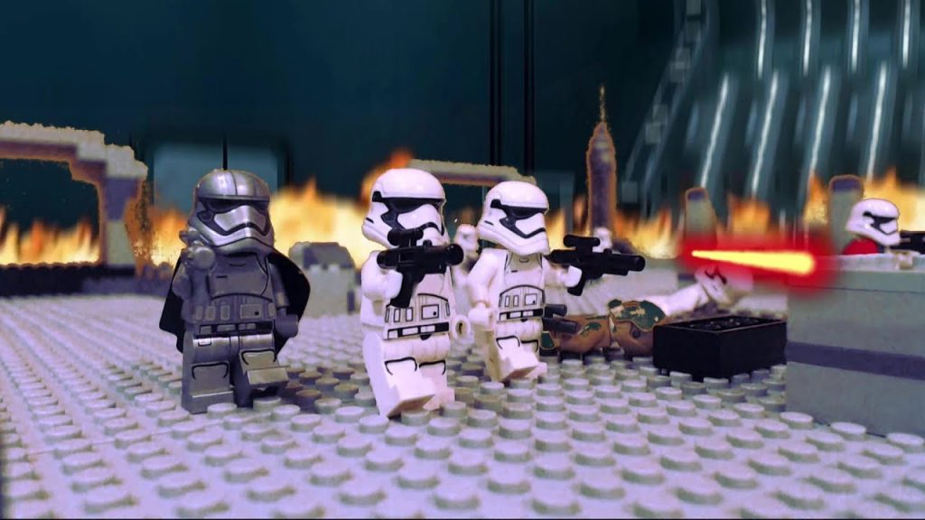 LEGO Star Wars the Last Jedi: Battle in the First Order Hangar Bay