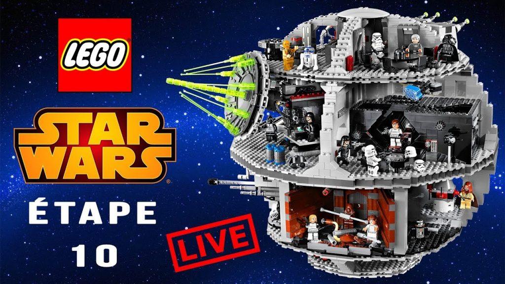 LEGO STAR WARS : on termine l'Étoile de la Mort !   ÉTAPE 10