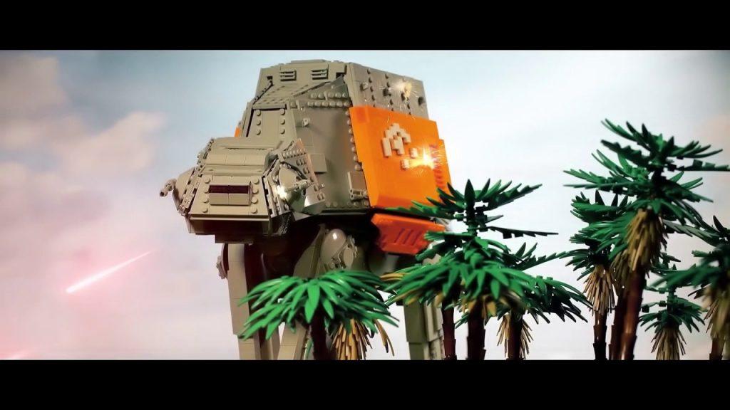 Battle of Scarif – LEGO Star Wars – Diorama