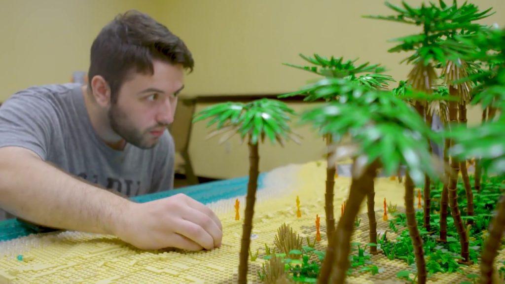 Battle of Scarif – LEGO Star Wars – AFOL Interview+Diorama