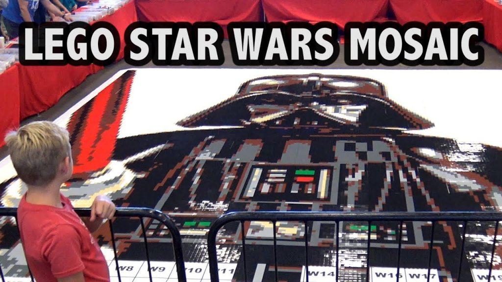 Creating a Gigantic LEGO Star Wars Mosaic at Brick Fest Live Phoenix