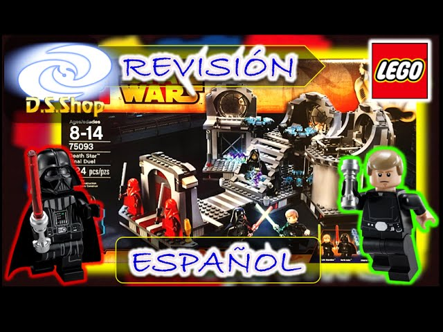 LEGO Star Wars Duelo Final en Death Star 75093 Review y Unboxing