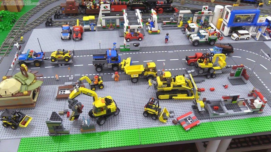 LEGO City update: Baseplates, lots of baseplates