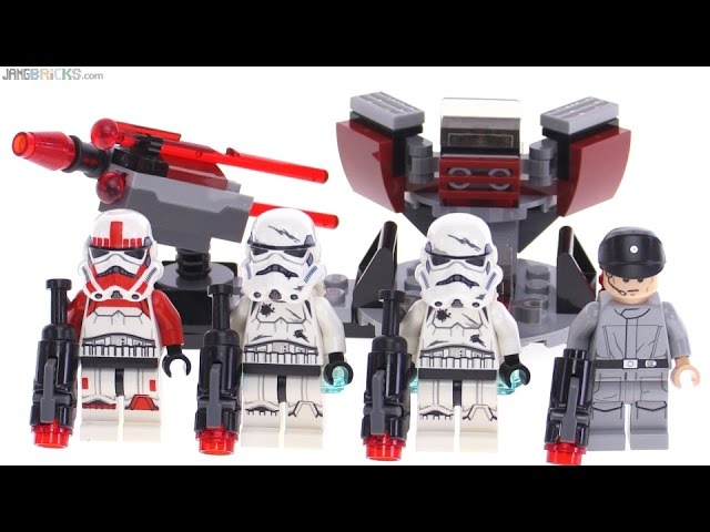 LEGO Star Wars Galactic Empire Battle Pack review! 75134