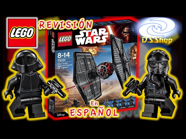 LEGO Star Wars First Order Special Forces TIE fighter Set 75101The Force Awakens Review Lego