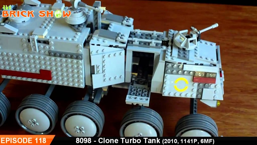 LEGO Star Wars Clone Turbo Tank Review : LEGO 8098 Review