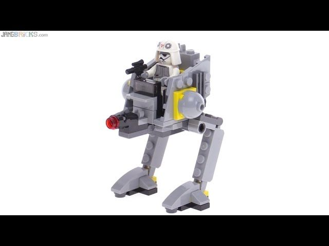 LEGO Star Wars Microfighters AT-DP review! 75130