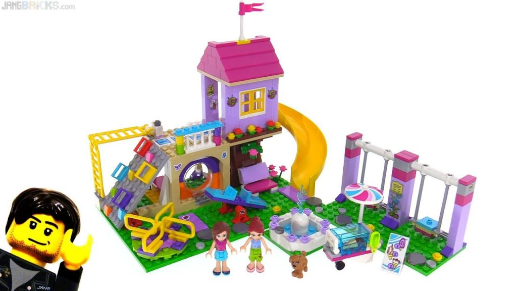 LEGO Friends fan-inspired Heartlake City Playground reviewed 🤸 41325