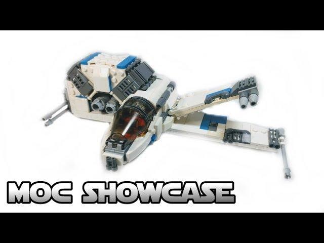 Rebel Alliance R-Wing – A LEGO Star Wars MOC Showcase!