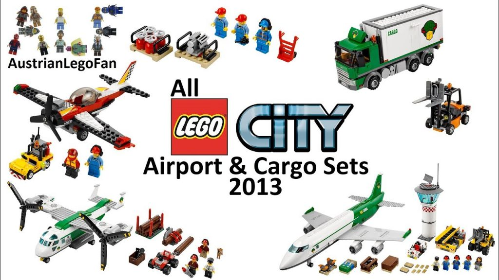 All Lego City Airport & Cargo Sets 2013 – Lego Speed Build Review