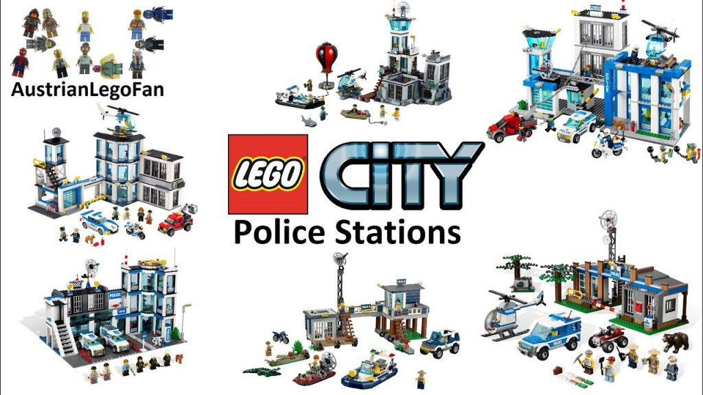 All Lego City Police Stations 2011 – 2017 – Lego Speed Build Review
