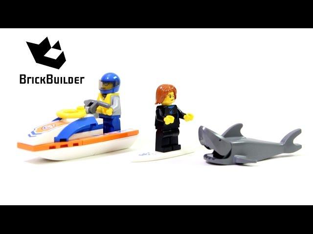 Lego City 60011 Surfer Rescue – Lego Speed Build