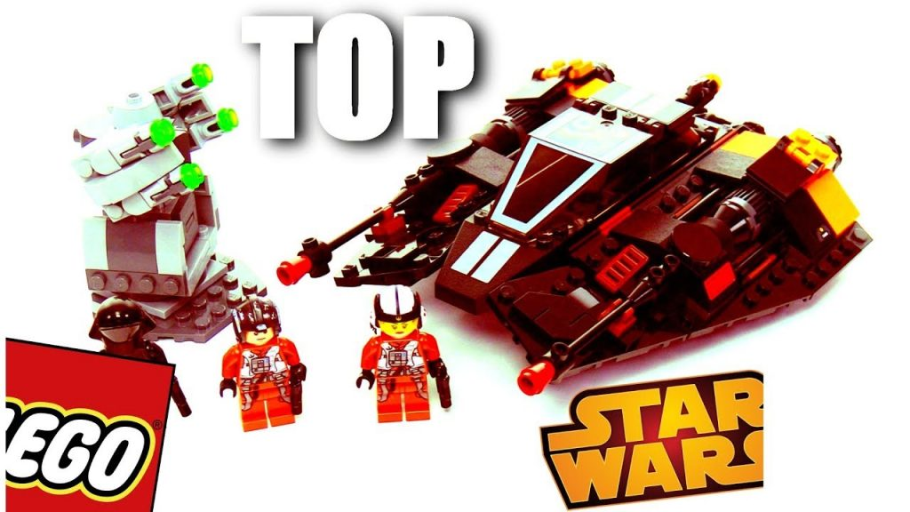 TOP LEGO Star Wars Lavaspeeder FIRST review on YouTube!!