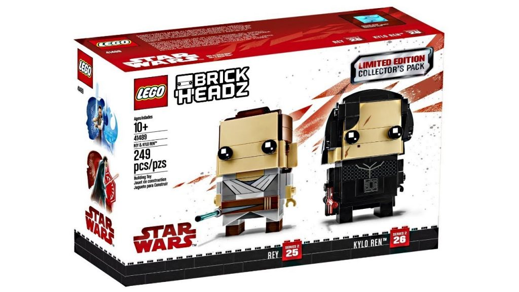 """Not much """"Limited Edition"""" in the 2018 LEGO Star Wars BrickHeadz 2-pack…"""