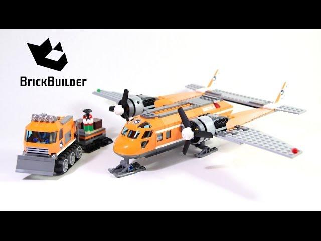 Lego City 60064 Arctic Supply Plane – Lego Speed Build