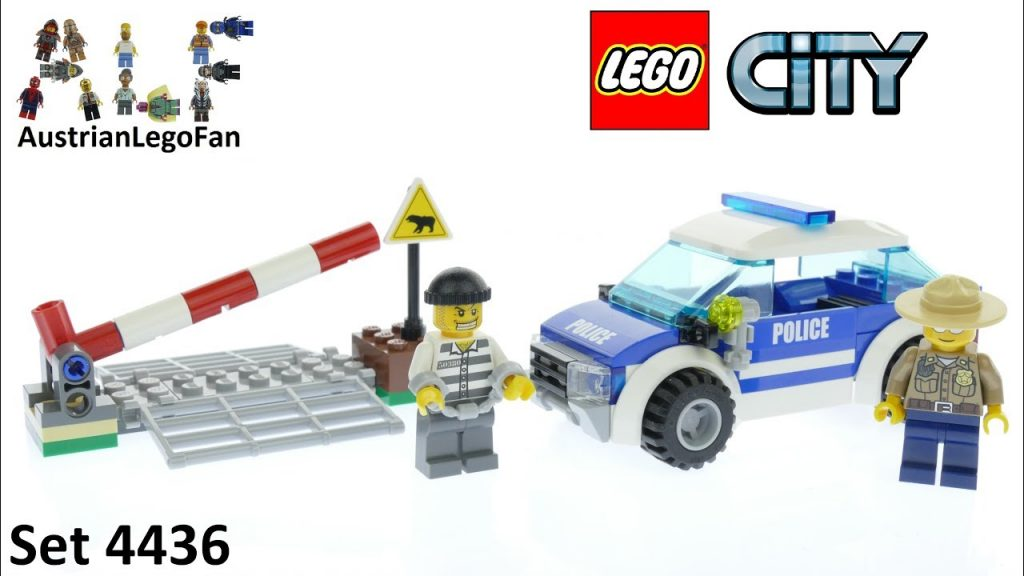 Lego City 4436 Patrol Car Forest Police – Lego Speed Build Review
