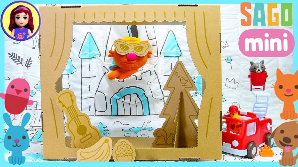 Sago Mini Tuck-Me-In Fairytale Quilt and Fire Engine Silly Play Review Kids Toys