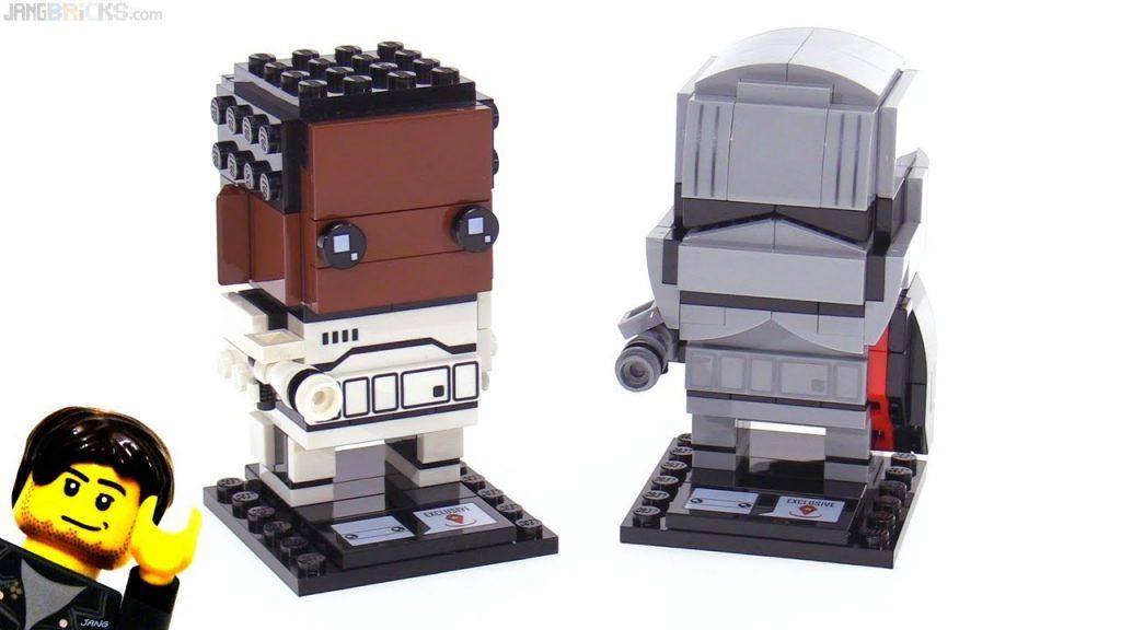 LEGO Star Wars BrickHeadz Finn & Capt. Phasma review