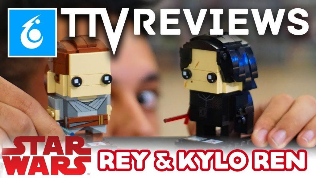 TTV Reviews REY and KYLO REN + GIVEAWAY – LEGO Star Wars Brickheadz – 41489