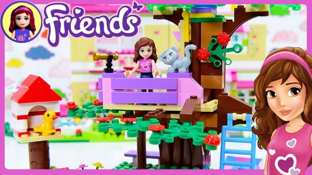 LEGO Friends Olivia's Treehouse Build Review Silly Play – Kids Toys