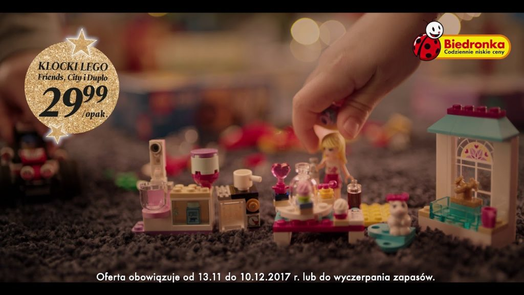 Lego Friends, City i Duplo w świątecznej biedronkowej cenie