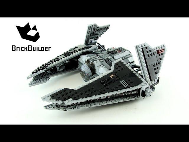 Lego Star Wars 9500 Sith Fury-class Interceptor – Lego Speed Build