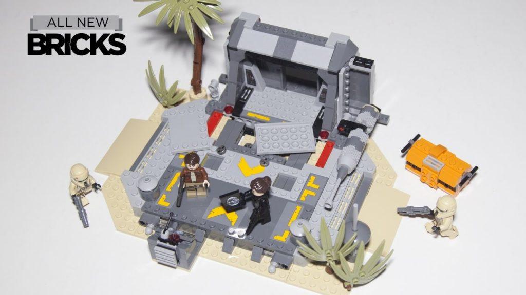 Lego Star Wars 75171 Battle on Scarif Speed Build