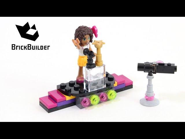Lego Friends 30205 Pop Star Red Carpet – Lego Speed Build