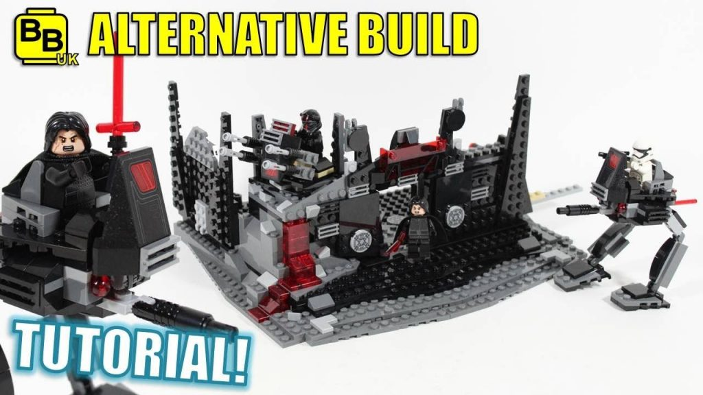 LEGO STAR WARS 75179 ALTERNATIVE BUILD KYLO REN'S FORTRESS