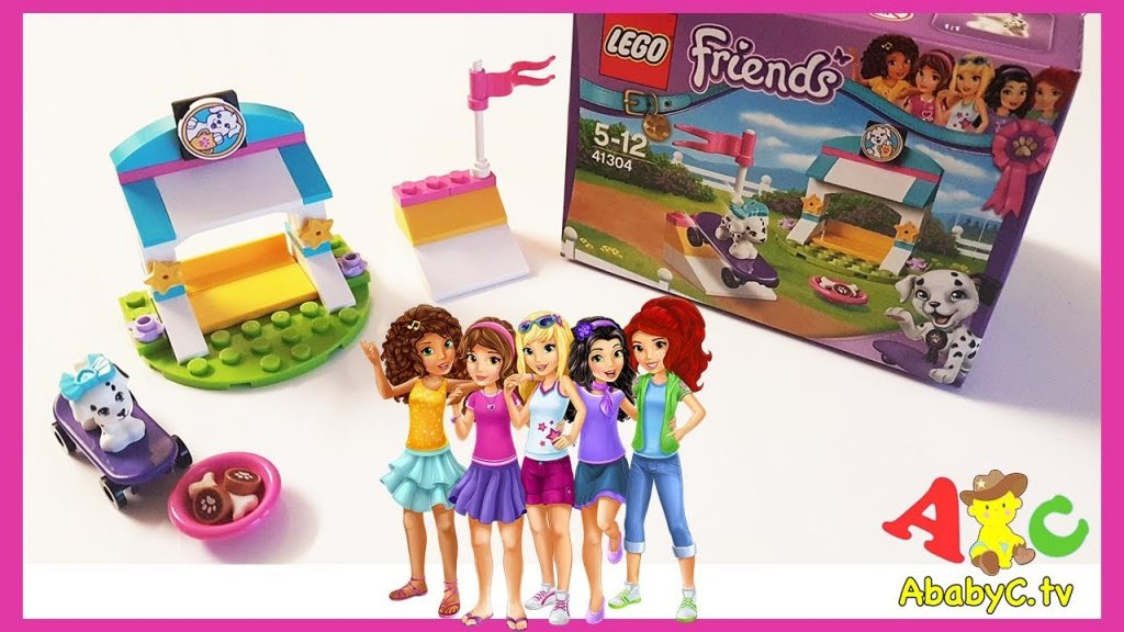 Lego Friends 41304 unboxing | Cookie toy for kids | Toys for girls| alphabet song Rhymes for babies