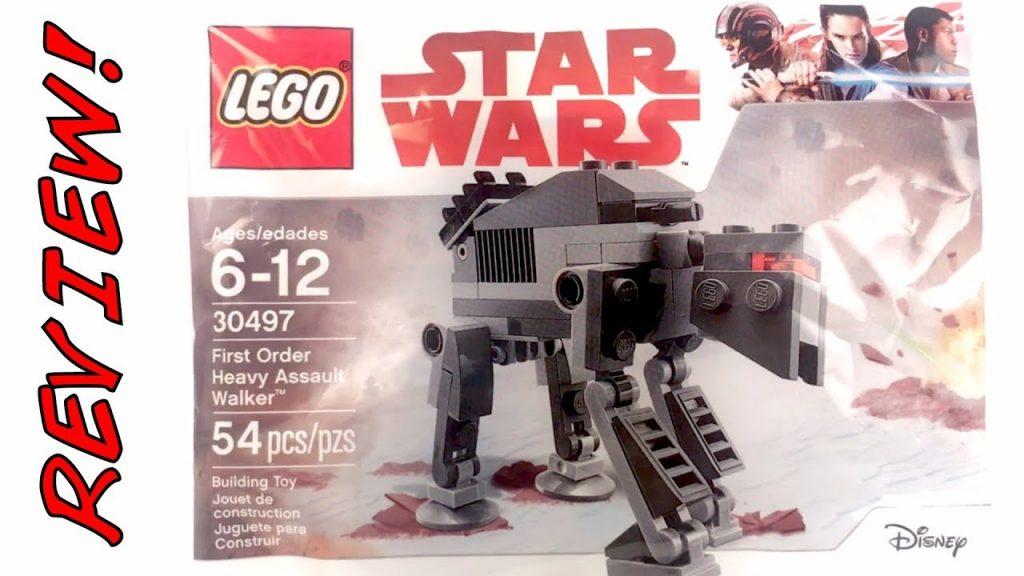 30497 First Order Heavy Assault Walker Review! | LEGO Star Wars The Last Jedi 2017