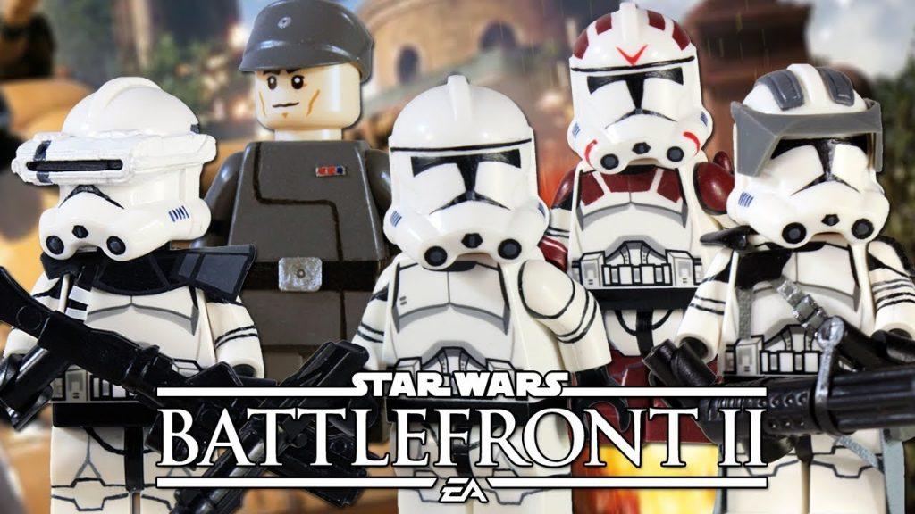 Custom LEGO Star Wars Battlefront II: Republic Clone Troopers