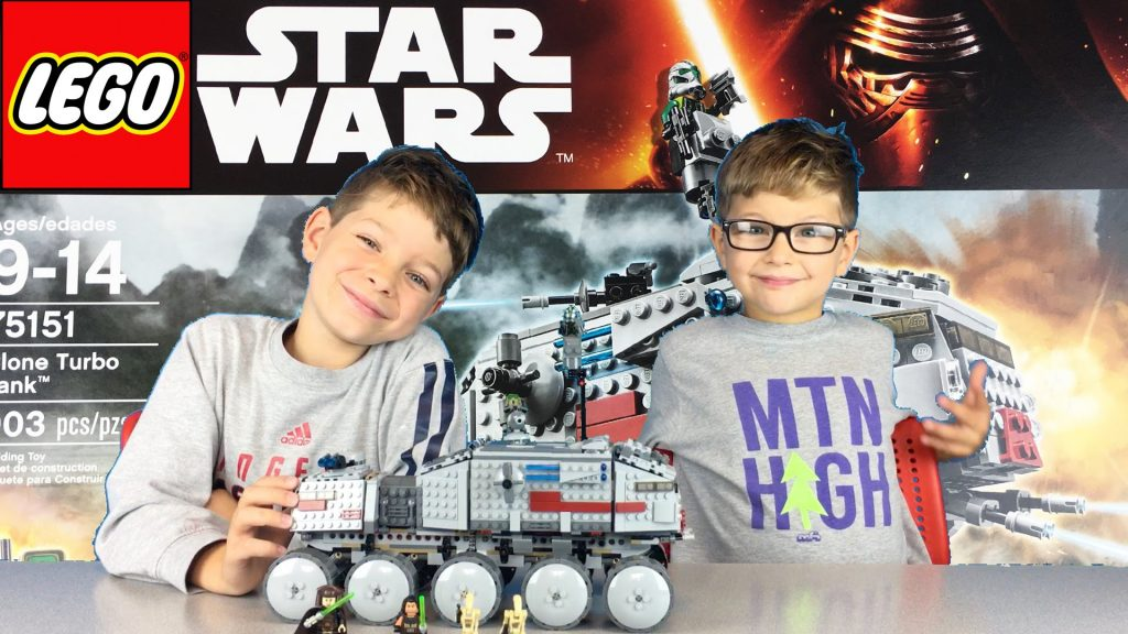 Lego Star Wars Clone Turbo Tank Unboxing, Build, Review, and PLAY #75151