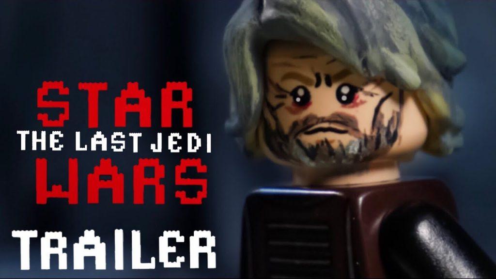 Star Wars The Last Jedi Trailer in LEGO