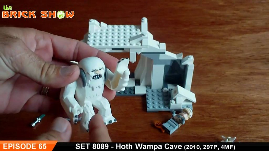 LEGO Star Wars Hoth Wampa Cave Review : LEGO 8089