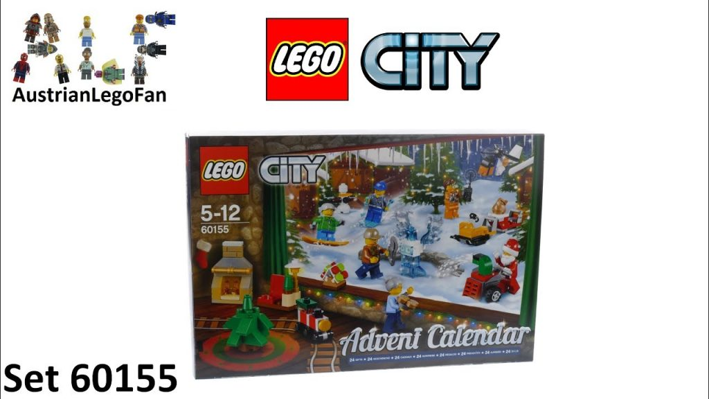 Lego City 60155 City Advent Calendar 2017 – Lego Speed Build Review